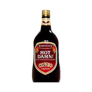 DeKuyper Hot Damn Cinnamon Schnapps