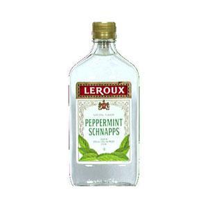 Leroux Peppermint Schanpps Liqueur 40 Proof