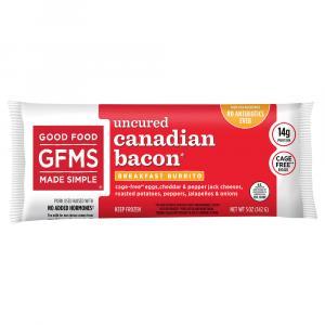 Good Food Made Simple Breakfast Burrito Canadian Bacon