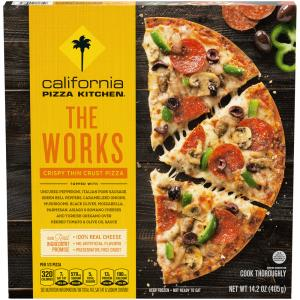 California Pizza Kitchen The Works Crispy Thin Crust