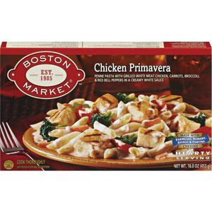 Boston Market Chicken Primavera