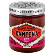 Desert Pepper Cantina Red Salsa Hot