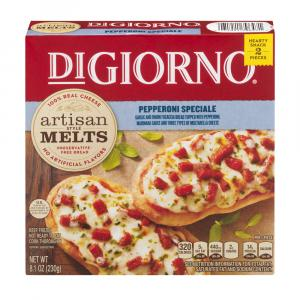 DiGiorno Artisan Style Melts Pepperoni Speciale Pizza