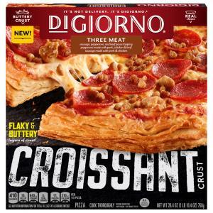 DiGiorno 3 Meat Croissant Crust Pizza