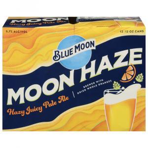 Blue Moon Moon Haze Hazy Juicy Pale Ale