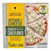 California Pizza Kitchen Artisanal Cheese Cauliflower Crust