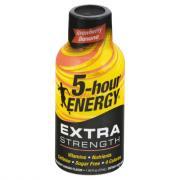 5 Hour Energy Extra Strength Strawberry Banana