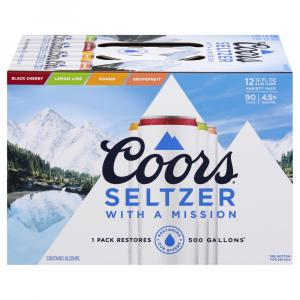 Coors Seltzer Variety Pack