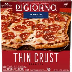 DiGiorno Thin Crispy Crust Pepperoni Pizza