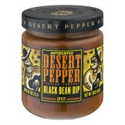 Desert Pepper Spicy Black Bean Dip