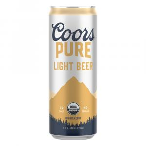 Coors Pure Light Beer