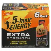 5-hour Energy Peach Mango Extra Strength