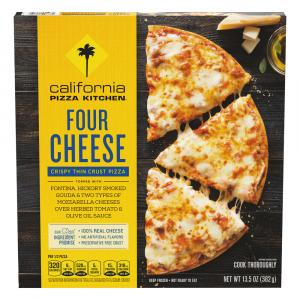 California Pizza Kitchen 4 Cheese Crispy Thin Crust