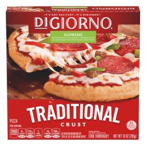 DiGiorno for One Supreme Traditional Crust Pizza