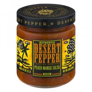 Desert Pepper Peach Mango Salsa