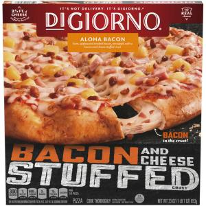 Digiorno Stuffed Crust Aloha Bacon Pizza
