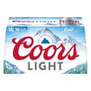 Coors Light Aluminum Pint