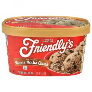 Friendly's Mocha Chunk Ice Cream