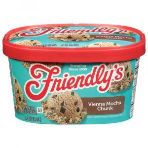 Friendly's Vienna Mocha Chunk Ice Cream