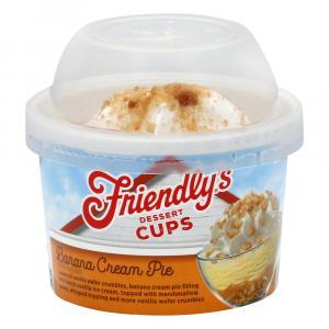 Friendly's Banana Cream Pie Dessert Cup