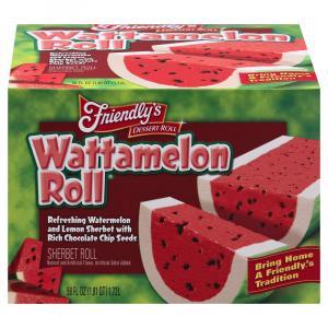 Friendly's Wattamelon Sherbet Roll