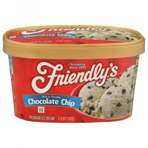 Friendly's Chocolate Chip Ice Cream