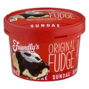 Friendly's Fudge Sundae Cup