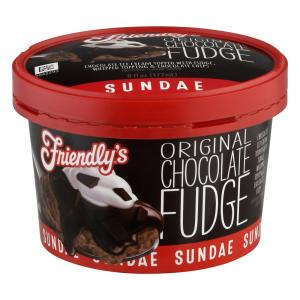 Friendly's Chocolate Fudge Sundae Cup