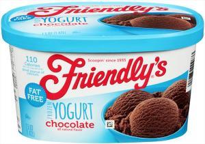 Friendly's Fat Free Chocolate Frozen Yogurt