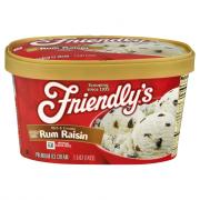 Friendly's Rum Raisin Premium Ice Cream