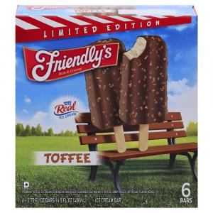 Friendly's Limited Edition Ice Cream Bars