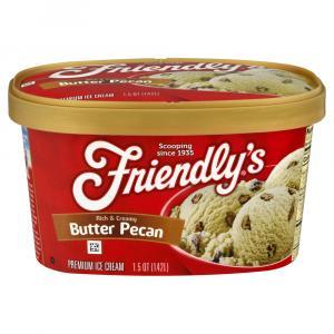 Friendly's Butter Pecan Ice Cream
