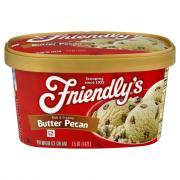 Friendly's Butter Pecan Ice Cream