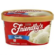 Friendly's Vanilla Ice Cream