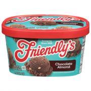 Friendly's Chocolate Almond Chip Ice Cream