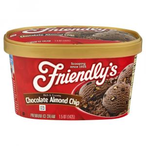 Friendly's Chocolate Almond Chip Ice Cream
