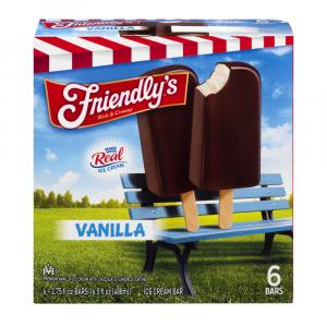 Friendly's Vanilla Ice Cream Bars