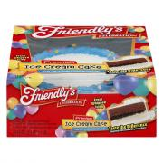 Friendly's Premium Blue Round Ice Cream Cake with Confetti