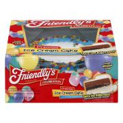 Friendly's Blue Round Ice Cream Cake