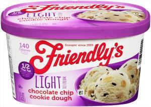 Friendly's Smooth Churned Light Chocolate Chip Ice Cream