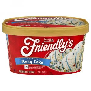 Friendly's Party Cake
