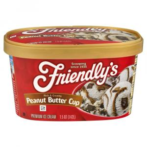 Friendly's Peanut Butter Cup Ice Cream