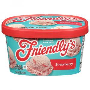 Friendly's Strawberry Ice Cream