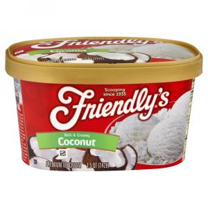 Friendly's Coconut Ice Cream