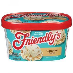 Friendly's Caramel Swirl Ice Cream