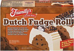 Friendly's Dutch Fudge Roll