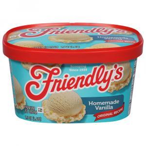 Friendly's Homemade Vanilla