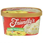 Friendly's Vanilla Pineapple Ice Cream