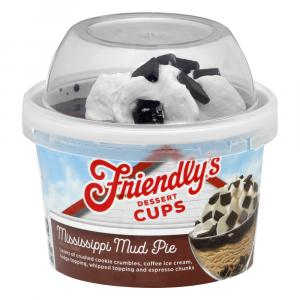 Friendly's Mississippi Mud Pie Dessert Cup