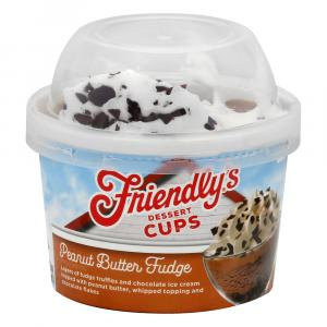 Friendly's Peanut Butter Fudge Dessert Cup